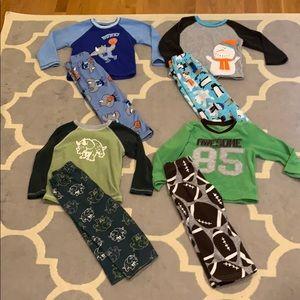 3T Boys fleece Pajama lot